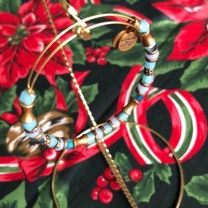 Lot of 2 Alex and Ani bracelets
